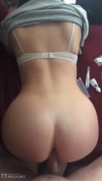 Awesome ass getting milk