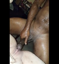 Massive Squirt fucked creampie