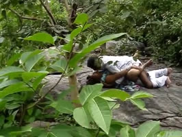 sexual follies couple caught fucking outdoors