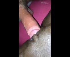 Amateur interracial creampie fucking haitian