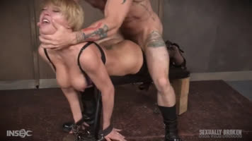 Compilation of hardcore porn scenes with tied girls