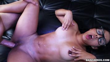 Carolina rivera in an exclusive porn casting for bangbros.com