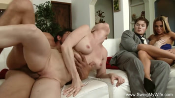 HD video of couple exchange
