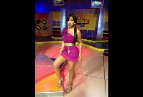 Ana carolina presentadora de TV Dominicana