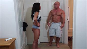 Follando una pareja fuerte y bien entrenada