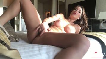 Sexual excitement eva lovia masturbating in the morning