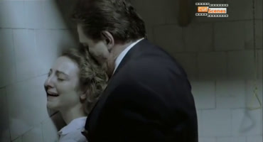 A director manages to have sex with a student in the bathroom