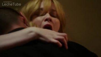 Christina Hendricks horny blonde screams with pleasure as she gets penetrated