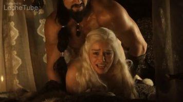 Emilia Clarke fucked hard from behind 1080p vidoe free pornography