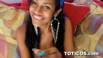 Dominican young woman is looking for her fucking for toticos.com