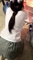 Sirvienta adolescente mexicana follada a cuatro patas