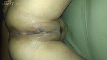 Annette mexicana recibiendo paliza de verga