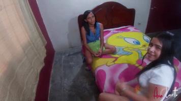 Threesomes – Jovenes venezolanas dando la mejor mamadas